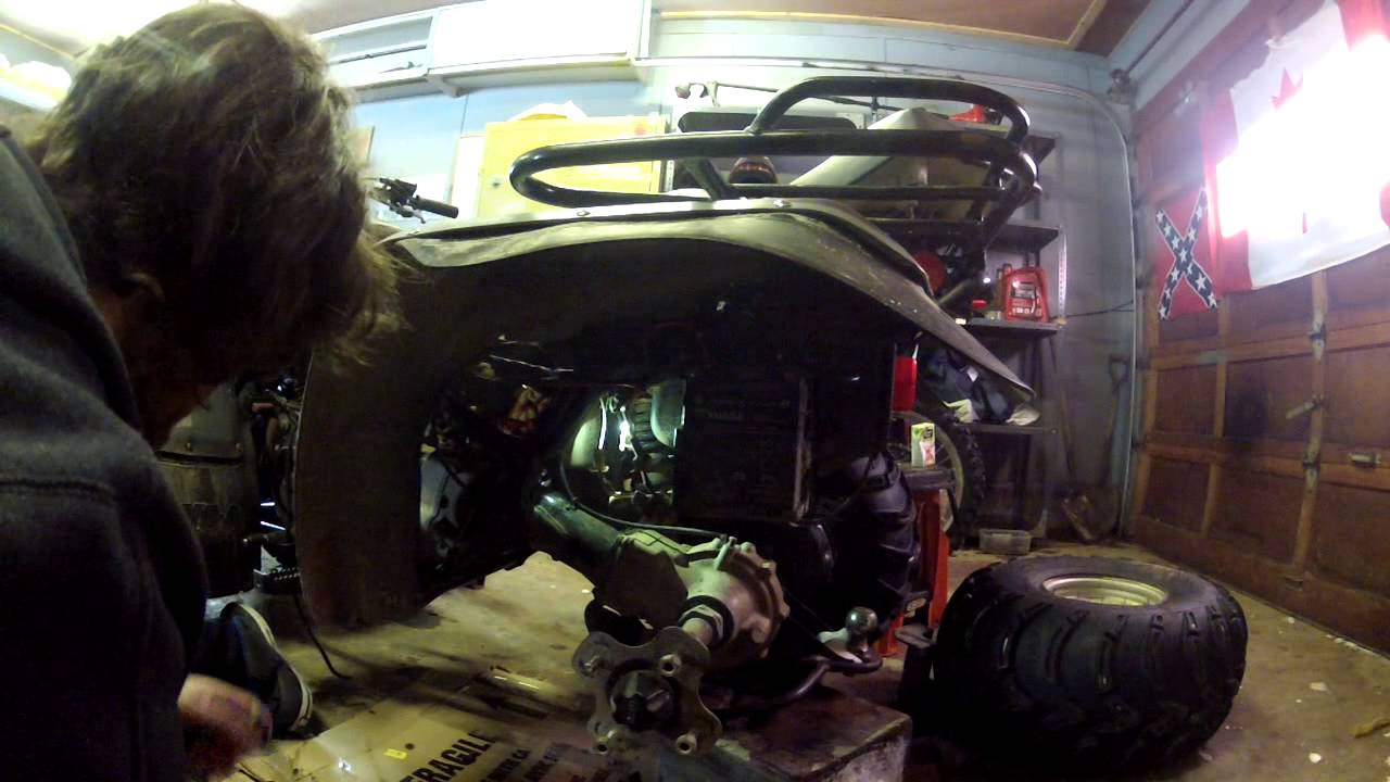 atv starter just clicks how to replace a solenoid and diagnose it  YouTube