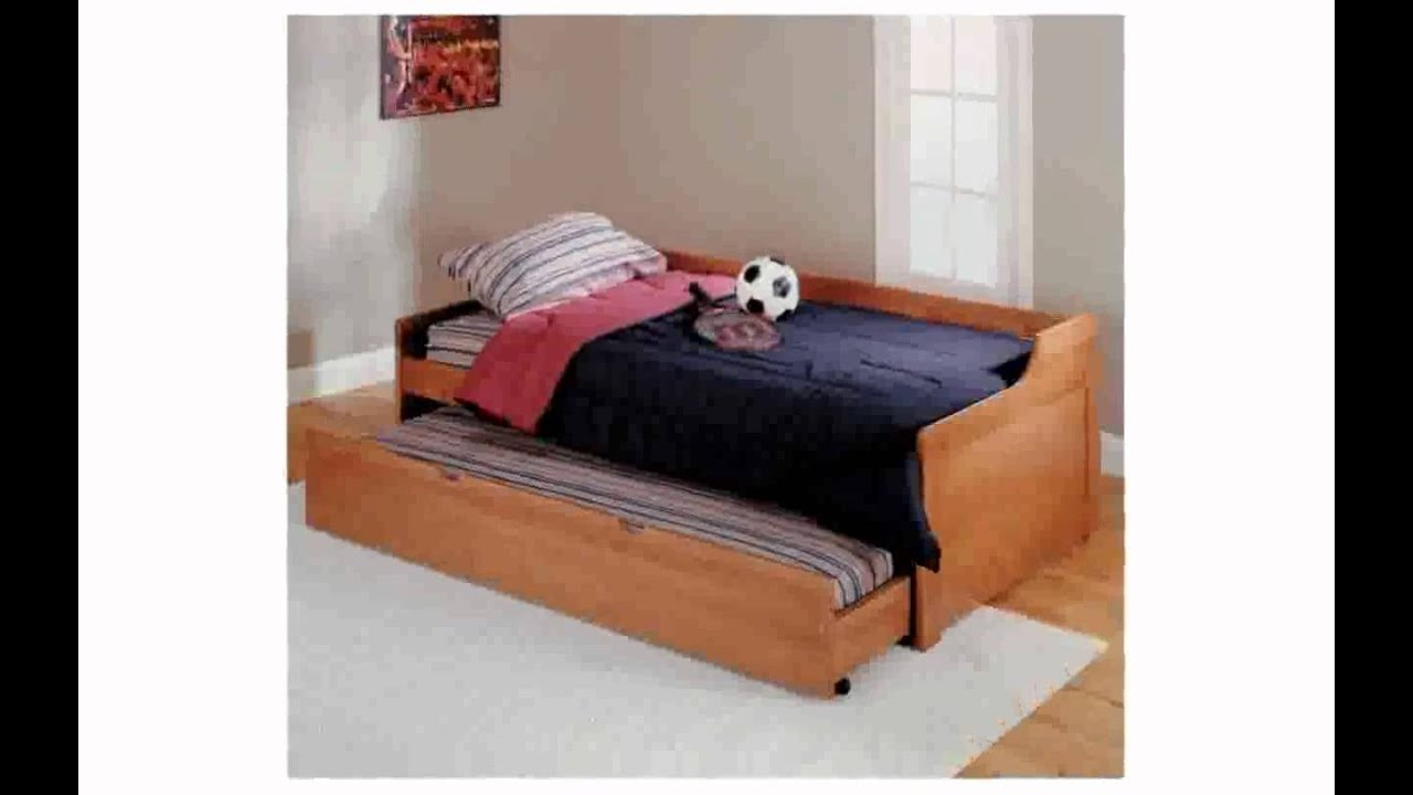 sofa trundle bed - youtube