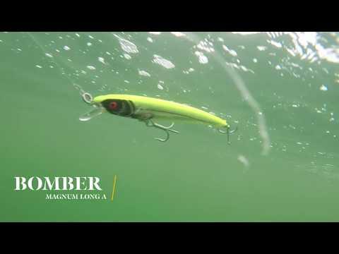 How Lures Swim: Bomber Magnum Long A