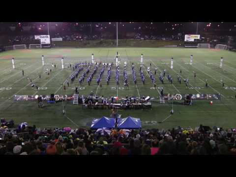 Grants Pass High School Marching Band at the 2016 NWAPA Championships