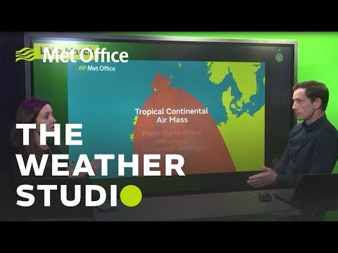 First satellite images, airmasses and April showers - The Weather Studio