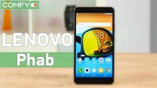 Lenovo Phab - планшет и телефон в одной конструкции - Видео демонстрация(Lenovo Phab - устройство совмещающее функциональность смартфон и большой экран планшета. Узнайте цену, характер..., 2016-08-25T05:34:02.000Z)