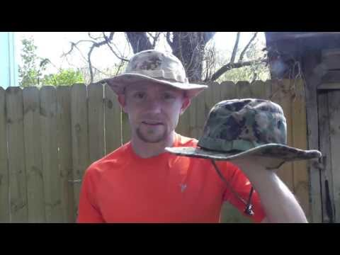 The USMC Boonie Hat Review - The Outdoor Gear Review