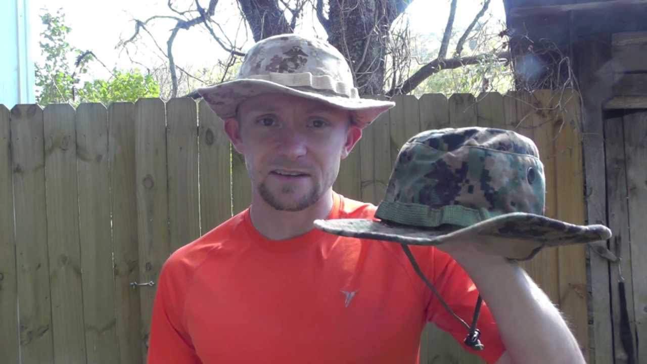 The USMC Boonie Hat Review - The Outdoor Gear Review - YouTube 21582f5d6df