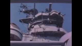 Battleship New Jersey, Vietnam War  American Dreadnaught pt1 2 1968 US Navy videos   CalPals