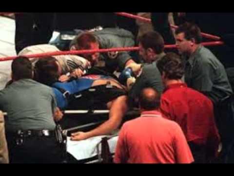La Caida De Owen Hart En El Ppv Over The Edge 1999 Espanol Latino Solo Audio Youtube