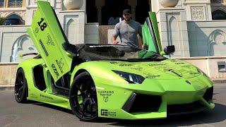 Il me prête sa Lamborghini Aventador à plus de 700.000€ !!