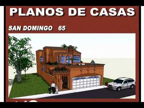 Planos de casas modelo san domingo 65 arquimex planos de for Planos de casas youtube