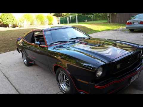 1978 Mustang Ii King Cobra Youtube