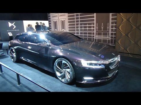 2015, Citroen DS Numero 9 Concept, Auto Show AutoRai Amsterdam 2015