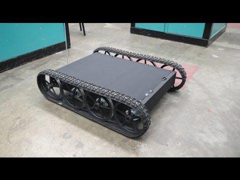 RC Tracked Vehicle #3 - Giant Tracked Platform