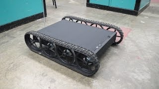 RC Tracked Vehicle #3 - Giant Tracked Platform