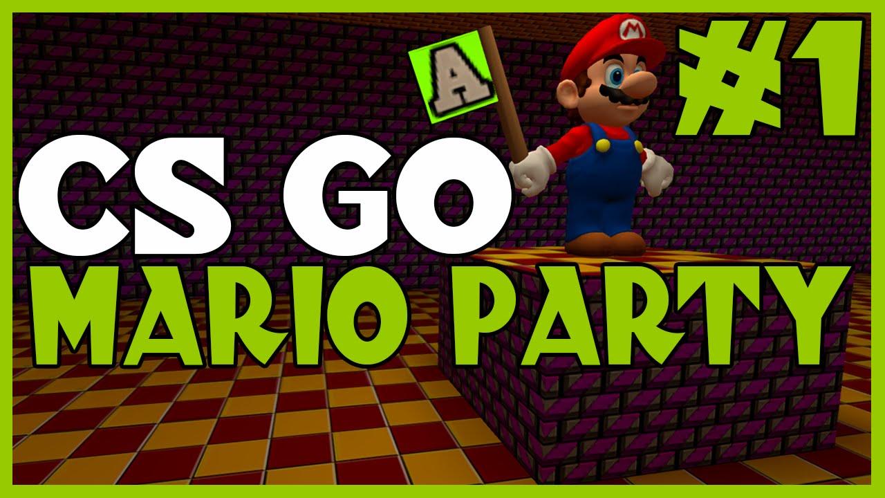 Counter Strike Mario Party Cs Go Mario Party Minigames Youtube
