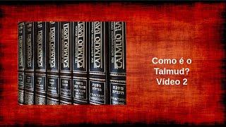 Introdução ao Talmud 2 - Sua divisão e diagramação