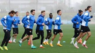 Chen, novedad en el entrenamiento del Málaga CF