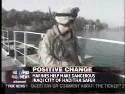 Fox News in Barwanah Iraq