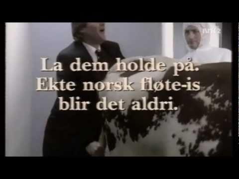Reklame - Svensk vs norsk iskrem