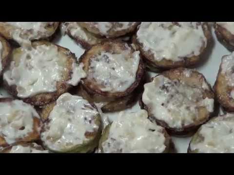 Как вкусно пожарить кабачок с майонезом и чесноком