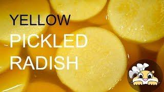 Instant Yellow Pickled Radish with Turmeric (Danmuji: 단무지, 쌈무)