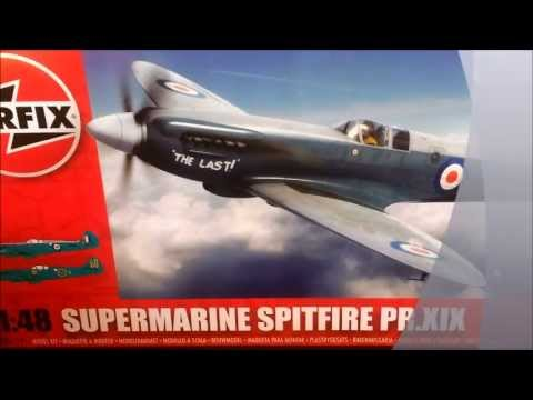 Review Of Airfix Supermarine Spitfire PR XIX 1/48 (New tooling!) - Kit suplied by Airfix