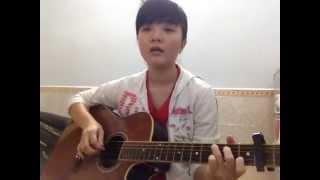 Tôi thấy hoa vàng trên cỏ xanh - Guitar cover - Khánh Vy