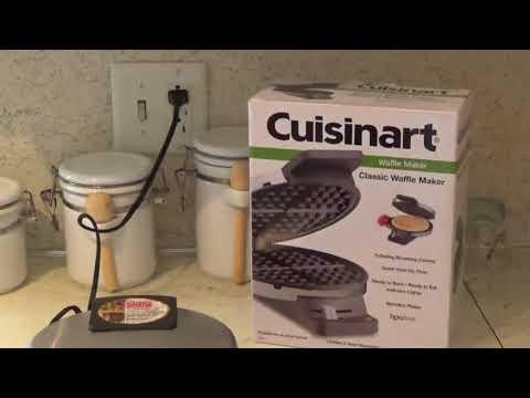 CUISINART waffle maker review