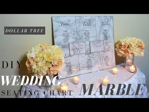 diy-wedding-seating-chart-|-dollar-tree-wedding-diy-|-marble-wedding-decor