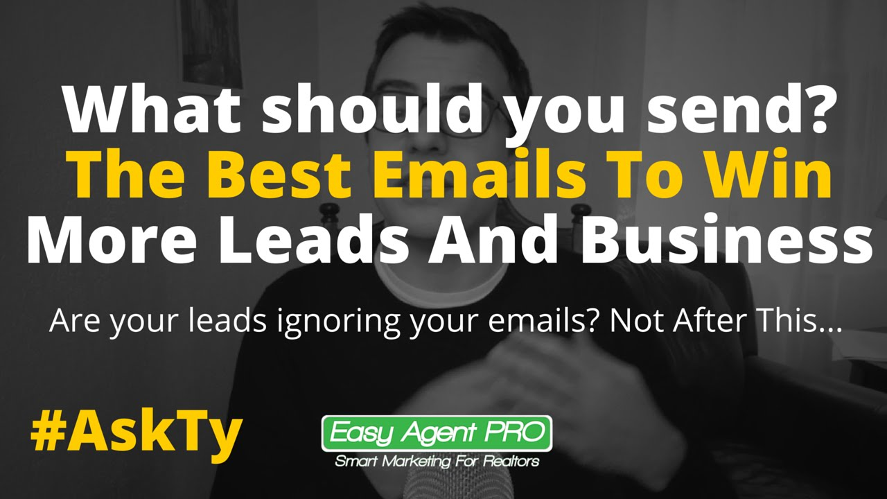 In The Lead #15: 13 Free Real Estate Email Templates That Get You ...