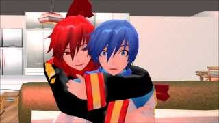 - MMDShut Up and Sleep With Me, Kaito
