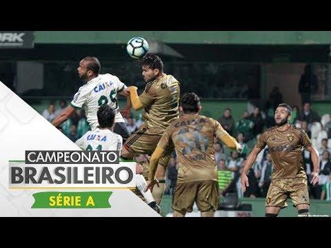 Melhores Momentos - Coritiba 0 x 3 Sport - Série A (10/07/17)