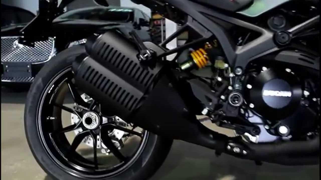 ducati monster 1100 diesel edition sound & detail (ducati rama3