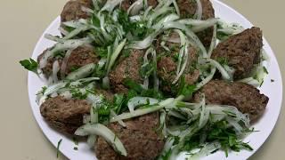 Рецепт за 1 минуту. Как правильно приготовить Люля - кебаб дома. Вкусная обстановка