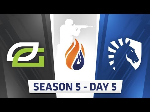 ECS Season 5 Day 5 - Optic Gaming vs Team Liquid