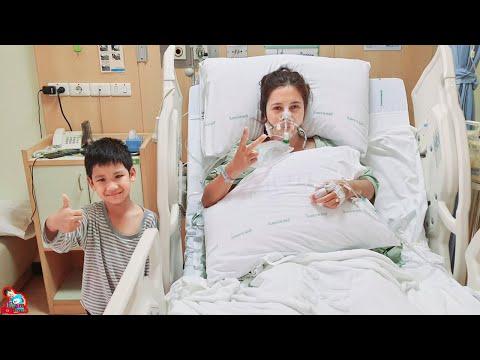 น้องบีม   แม่บีผ่าตัดนอนโรงพยาบาลหลายวัน