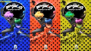 Colors Reaction Compilation Miraculous Ladybug & Cat Noir - The Official Game| TabTale