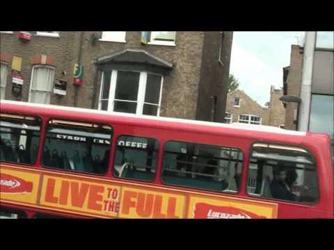 Route 19 Arriva London Hybrid Bus Finsbury Park Interchange to Battersea Bridge South Side
