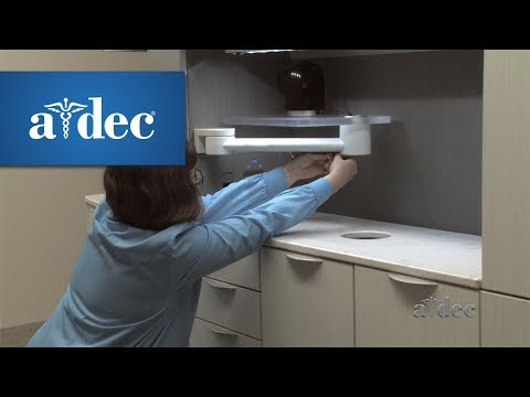 Add an Auxiliary Device to A-dec Inspire Dental Cabinets