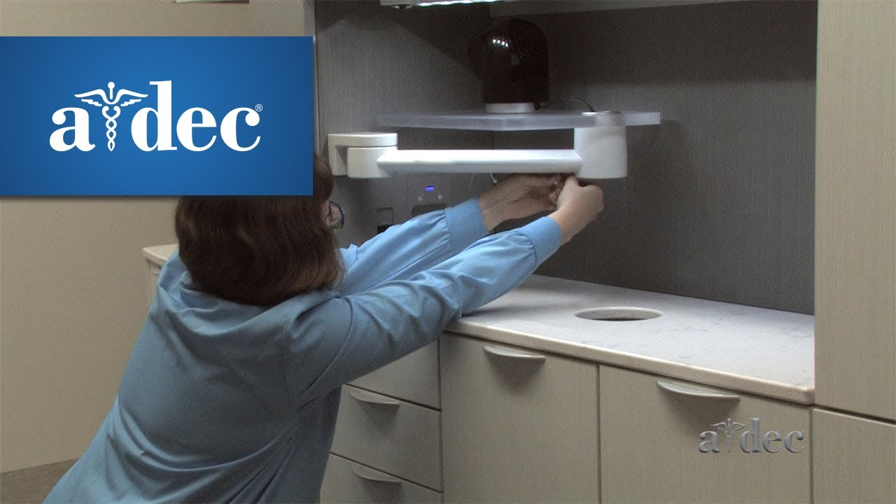 Add an Auxiliary Device to A-dec Inspire Dental Cabinets - YouTube