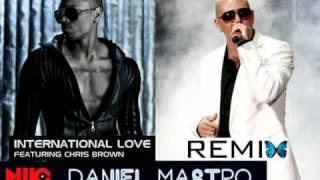 Gambar cover Pitbull   International Love ft Chris Brown  (Daniel Ngo Remix 2012)