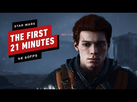 Star Wars: Jedi Fallen Order - The First 21 Minutes in 4K 60fps