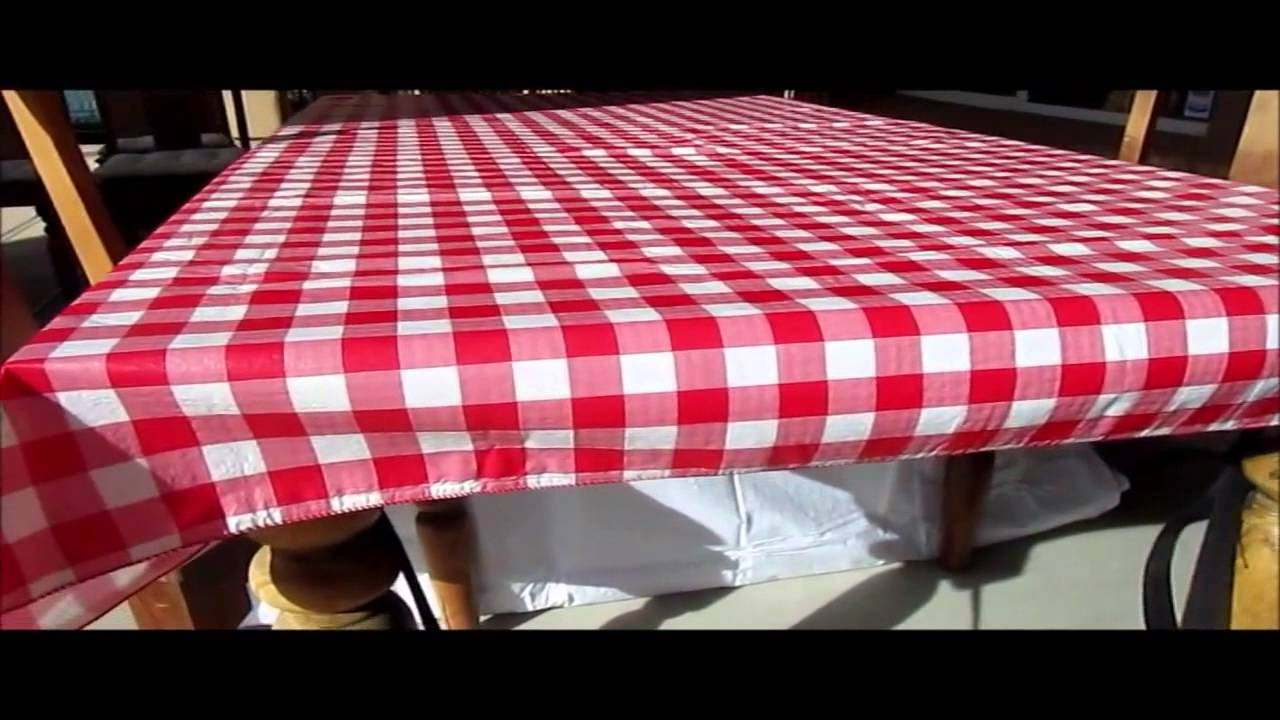 Delightful Wind Proof Picnic Table Cover   YouTube