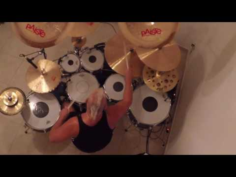 Mike Terrana plays  - The Great Rush