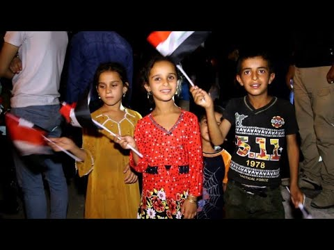 Iraq's Mosul celebrates, one year after IS ousted