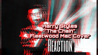 Harry Styles - The Chain (Fleetwood Mac Cover) in the Live Lounge | REACTION By #MacTheReactor