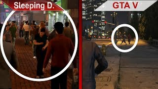 BIG COMPARISON | Sleeping Dogs: Definitive Edition vs. GTA V | PC | ULTRA | Part 2