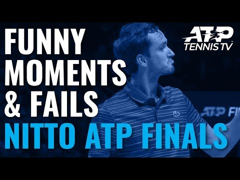 Funny Tennis Moments And Fails 🤣 | Nitto ATP Finals 2019