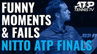 Funniest Moments & Fails 🤣 | Nitto ATP Finals 2019