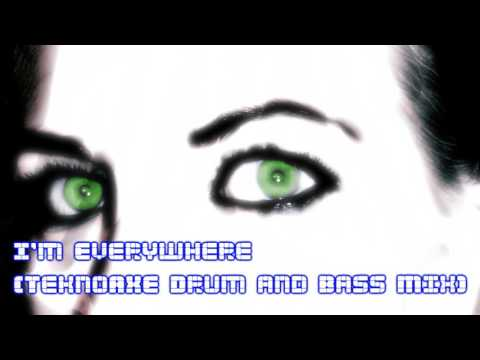 I'm Everywhere [TeknoAXE Drum and Bass Mix] -- Royalty Free Music