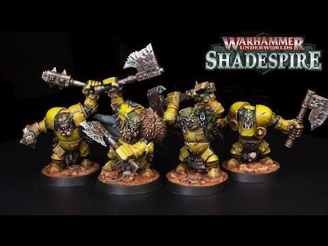 How to Paint Ironjawz Orruks - Ironskull's Boyz (Part 1)  -  Warhammer Underworlds Shadespire