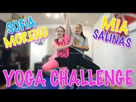 Reto Yoga Challenge | Sofia Moreno ft Mia Salinas